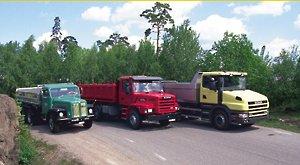 Капотный грузовик SCANIA-VABIS