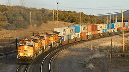 Первый международный контейнерный грузовой состав Пекин - Гамбург отправился в путь