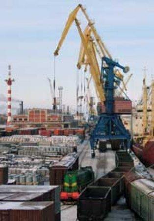 Морской порт Санкт-Петербурга увеличил перевалку грузов на 10%