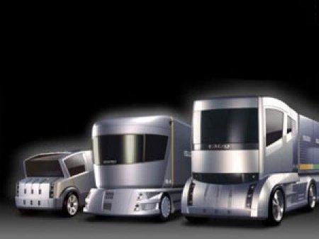 Большое увеличение объема продаж грузовиков ISUZU в России