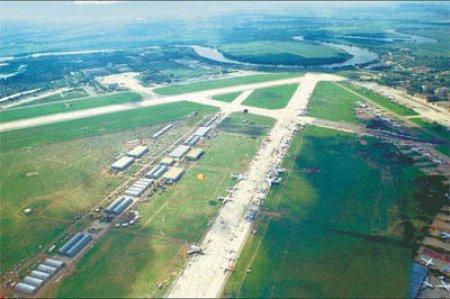 В Жуковском проходит смотр авиации МЧС России