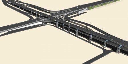 В Омской области построен автодорожный путепровод через Транссиб