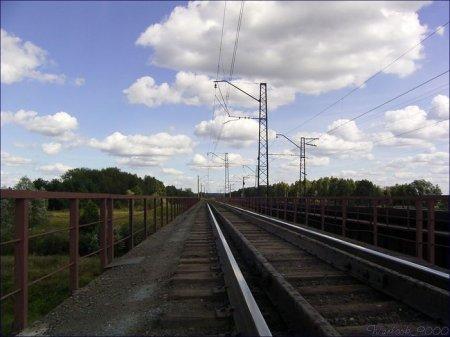 Взрыв на железной дороге на юге Москвы