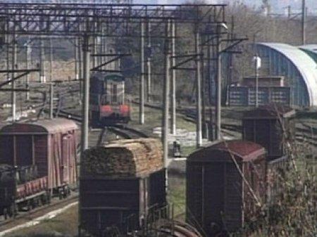 В Красноярском крае столкнулись два грузовых поезда