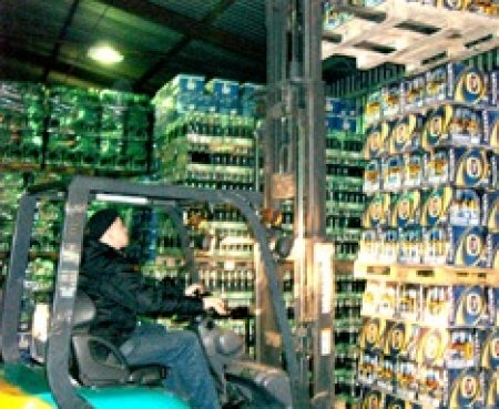 Логистический оператор на складе