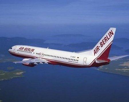 Air Berlin уменьшит топливный сбор