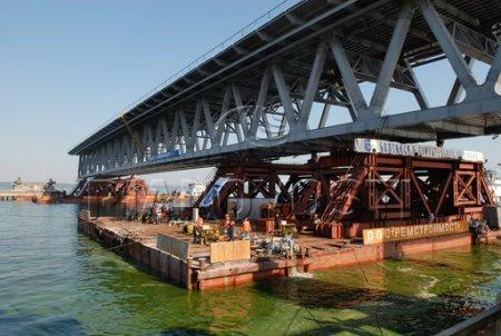 В Мурманске завершено строительство моста через реку Роста