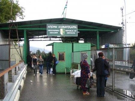 Провоз грузов через российско-абхазскую границу усложнен в связи с новыми правилами